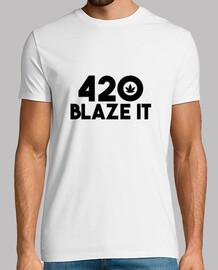 420 Blaze It - White Edition