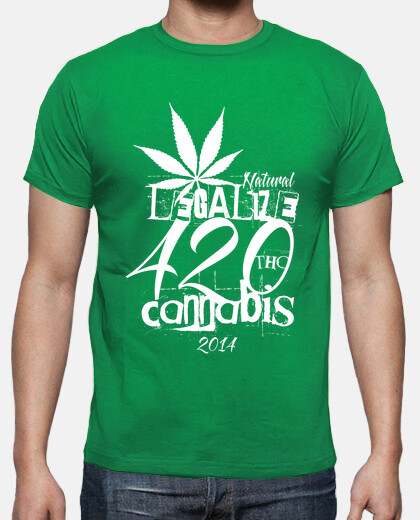 420 LEGALIZE White