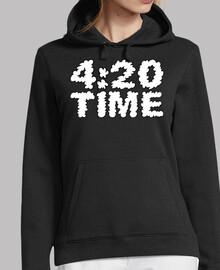 420 temps de fumée