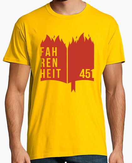 Tee-shirt 451 fahrenheit