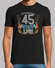 45 tacos regalo di compleanno