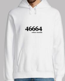 46664 Nelson Mandela - Sudadera chico