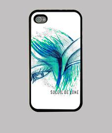 486 640 i phone shell - blue elf