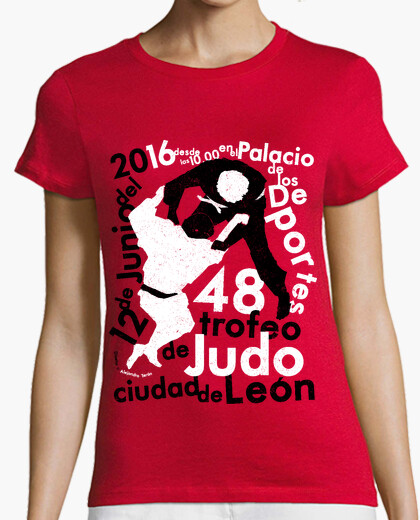 48 trophy city of leon judo g t-shirt