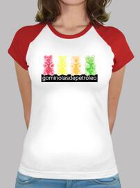 4 bears. girl t-shirt red baseball