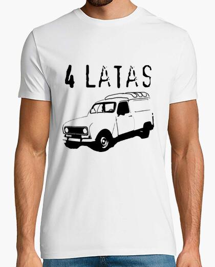 Tee-shirt 4 boîtes