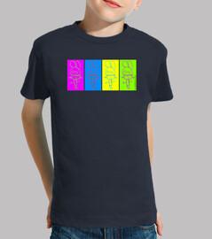 4 colores