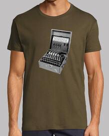 4 Rotor Enigma Machine
