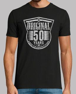 50 anni di età originale fino alla perfezione