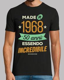 50 anni essendo incredibile