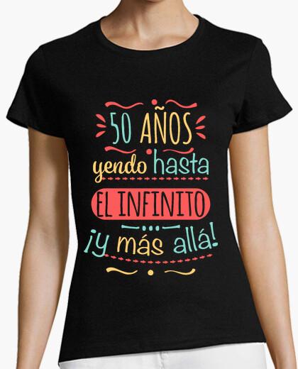 T-shirt 50 anni per l'infinito e più al di là