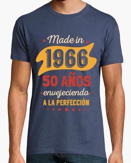 T-shirt 50 anni più anziani alla perfezione