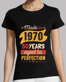 50 anni realizzati nel 1970 aged alla perfection