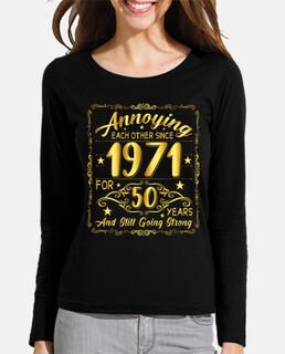 50 años de cumpleaños desde 1971