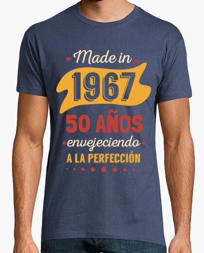 Camiseta 50 Años Envejeciendo a La Perfección
