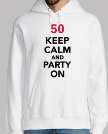 50 cumpleaños mantén la calma y ve de f
