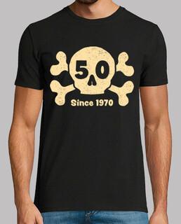 50 Jahre schädel / totenkopf seit 1970