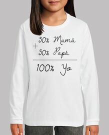50 mamma 50 papà = 100 anni (lettere ne