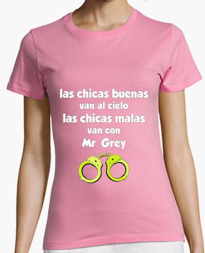 Camiseta 50 sombras de grey 1