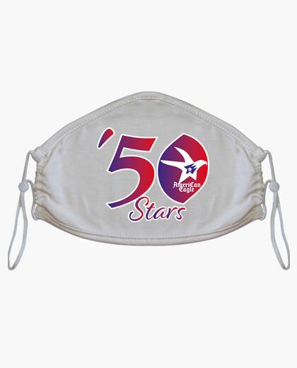 Mascarilla 50 Stars American Eagle T-shirt