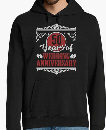 50 years of wedding anniversary hoody