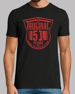 51 anni di età originale alla perfezione