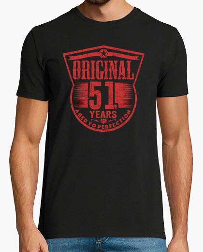 Camiseta 51 años originales envejecidos a la perfección