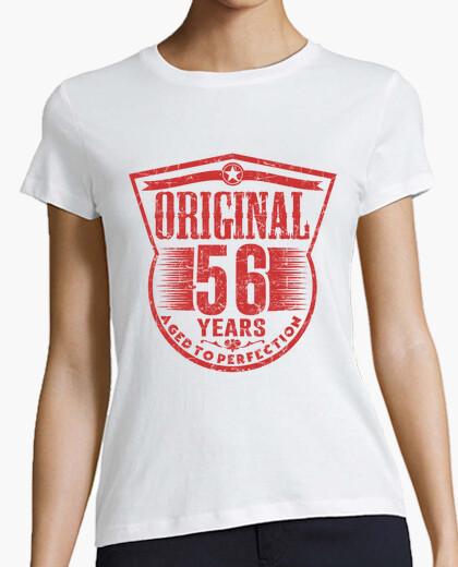 Camiseta 56 years original aged to perfection