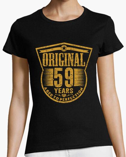 Camiseta 59 years original aged to perfection