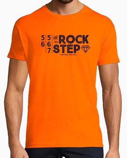 Tee-shirt 5 6 7 and rockstep · black edition