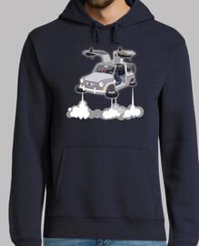 600 to the future - hoodie
