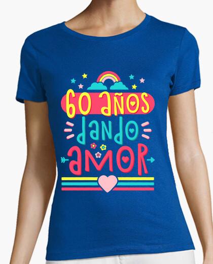T-shirt 60 anni che danno amoree