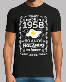 60 anni molando un uovo 1958