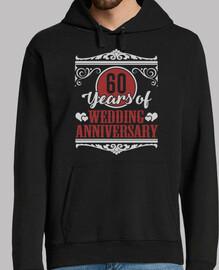 60 años de aniversario de bodas
