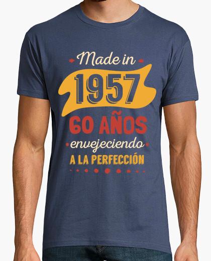 Camiseta 60 Años Envejeciendo a La Perfección