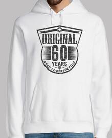 60 años originales envejecidos a la per
