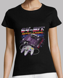 64-bit retro gaming shirt womens
