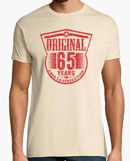 Tee-shirt 65 ans d'origine vieilli à la perfection