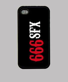 666SFX Funda iPhone 4 y 4S