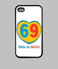 69 Funda iPhone 4, negra