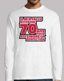 70 anni per raggiungere la perfezione