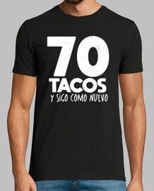 70 birthday gift tacos