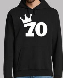 70 cumpleaños corona