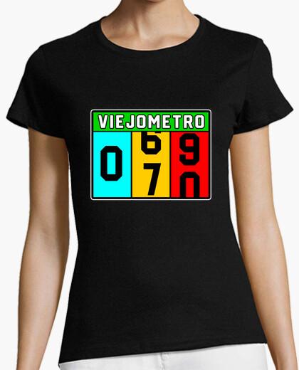 Camiseta 70 Cumpleaños Viejo-Metro