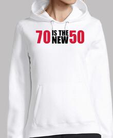 70 es el nuevo 50 cumpleaños