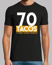 70th birthday gift tacos