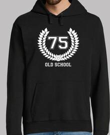 75 old school, jersey capucha