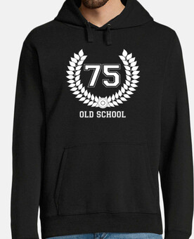 75 old school, jersey capucha