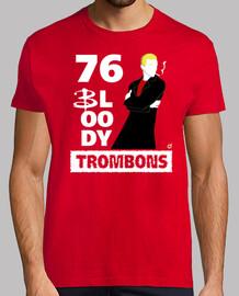 76 malditos trombones (camisetas chico y chica)