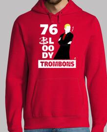 76 malditos trombones (sudaderas chico y chica)